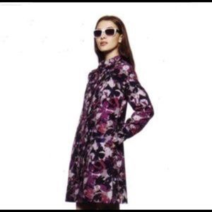 Thakoon for Target floral trench / long jacket